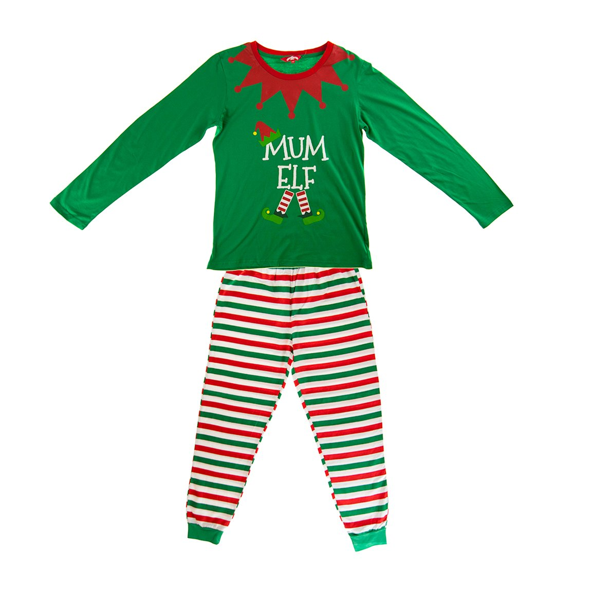 32a2295a57 Made By Elves Elf Pyjamas Christmas Family PJs - Dad