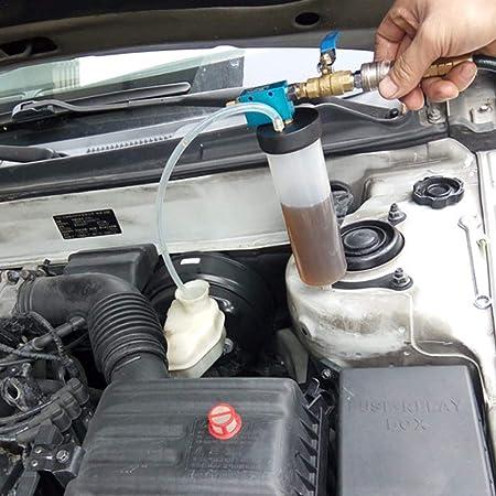 Biback Cambiador de Aceite de Freno Bombeo Herramienta de Freno de Aceite líquido de Freno Herramienta de reemplazo vacío Herramienta Bombeo Unidad: ...