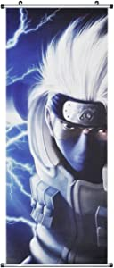 CosInStyle for Kakashi Hatake Large Scroll Image/Kakemono Fabric Poster, 100x40 cm