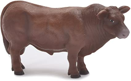 Realistic Red Angus Cow 1//16th Scale Little Buster Toys Angus Cow