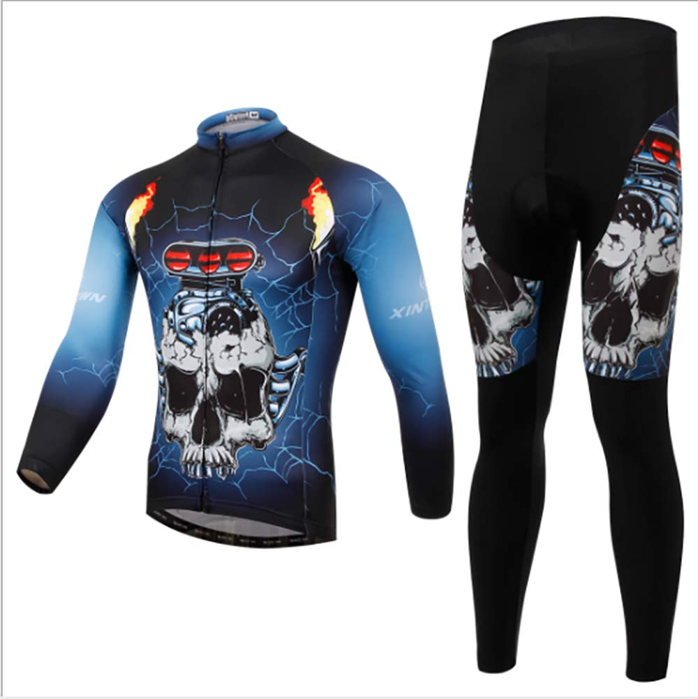 Pants Breathable Quick-dry for Spring Autumn Mars Jun Mens Cycling Clothing Set Sportswear Suit Bicycle Outdoor Long Sleeve Jersey