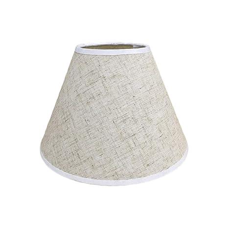 Pantalla de lámpara,Pantalla de Tela Redonda para Lampara ...