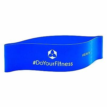 Cinta elástica »Achilles« / banda elástica resistencia loop para realizar fitness, crossfit, pilates, ejercicio, rehabilitación y fisioterapia / en 4 ...