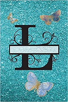 Elite Torrent Descargar L - Journal & Notebook: Monogram Letter L, Butterflies On Cover And Pages Paginas Epub