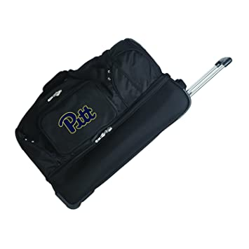 c41386fb2498 Amazon.com   NCAA Pittsburgh Panthers Rolling Drop-Bottom Duffel Bag ...