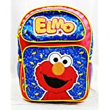 "Sesame Street Elmo 16"" Large Backpack School Bag"