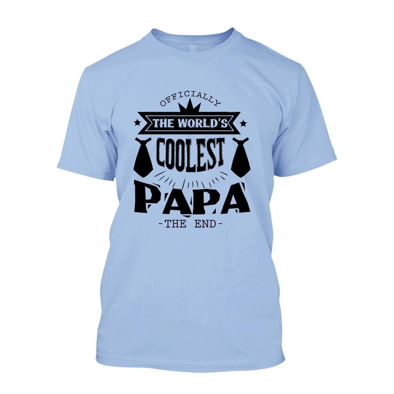 World S Coolest Papa Shirts Short Sleeve Tshirt Unisex Tee 4564