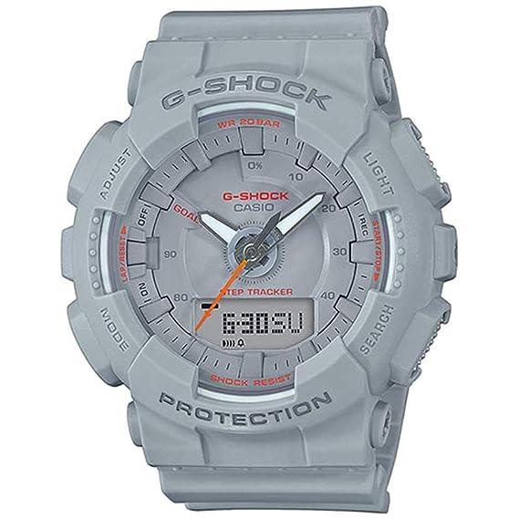 Casio Reloj Analógico-Digital para Unisex Adultos de Cuarzo con Correa en Plástico GMA-S130VC-8AER: Amazon.es: Relojes