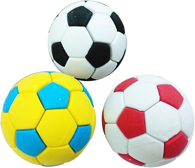 uyhghjhb - 3 gomas de borrar para fútbol creativo, material ...