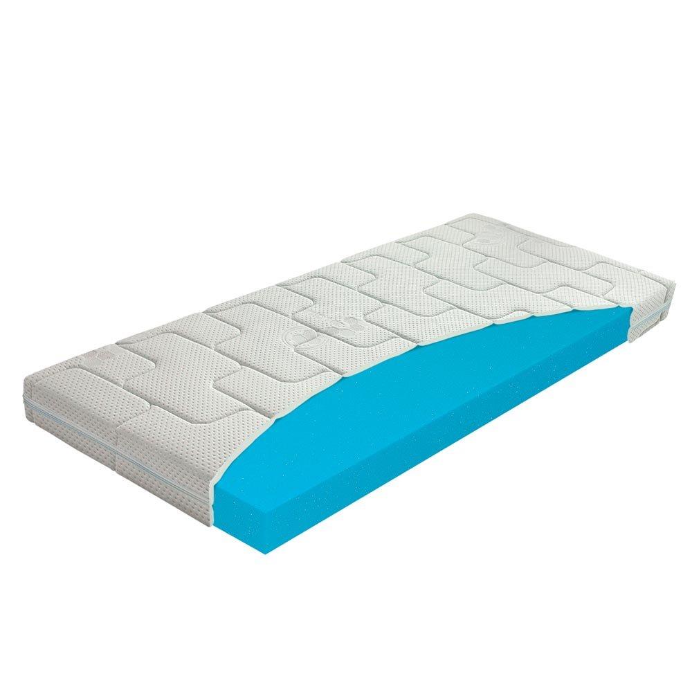 Beste 60 x 120 Kaltschaum-Matratze für Kinder, Babymatratze für Kinderbett / Krippe, Abnehmbarer, Waschbarer Bezug mit Seealgen-Extrakt im Bezug für Besseren Schlaf Und Gesundheit, Höhe 10 cm Höhe 10 cm MATERASSO
