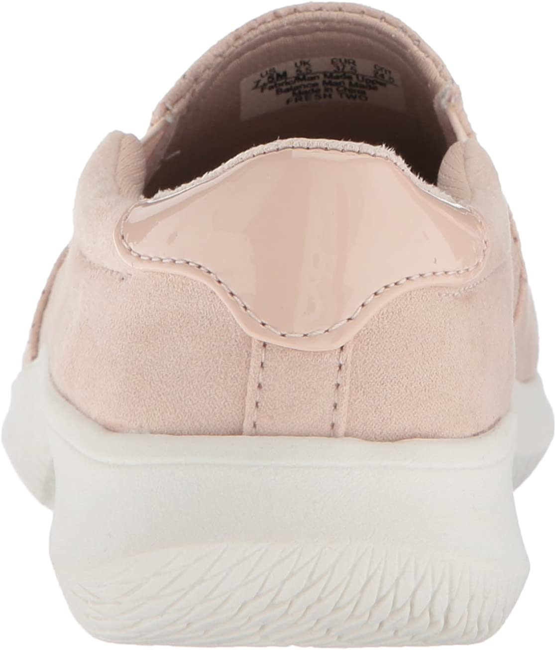 Dr Scholls Womens Fresh Two Slip-On Moc Toe Sneakers Blush Size 9 M US