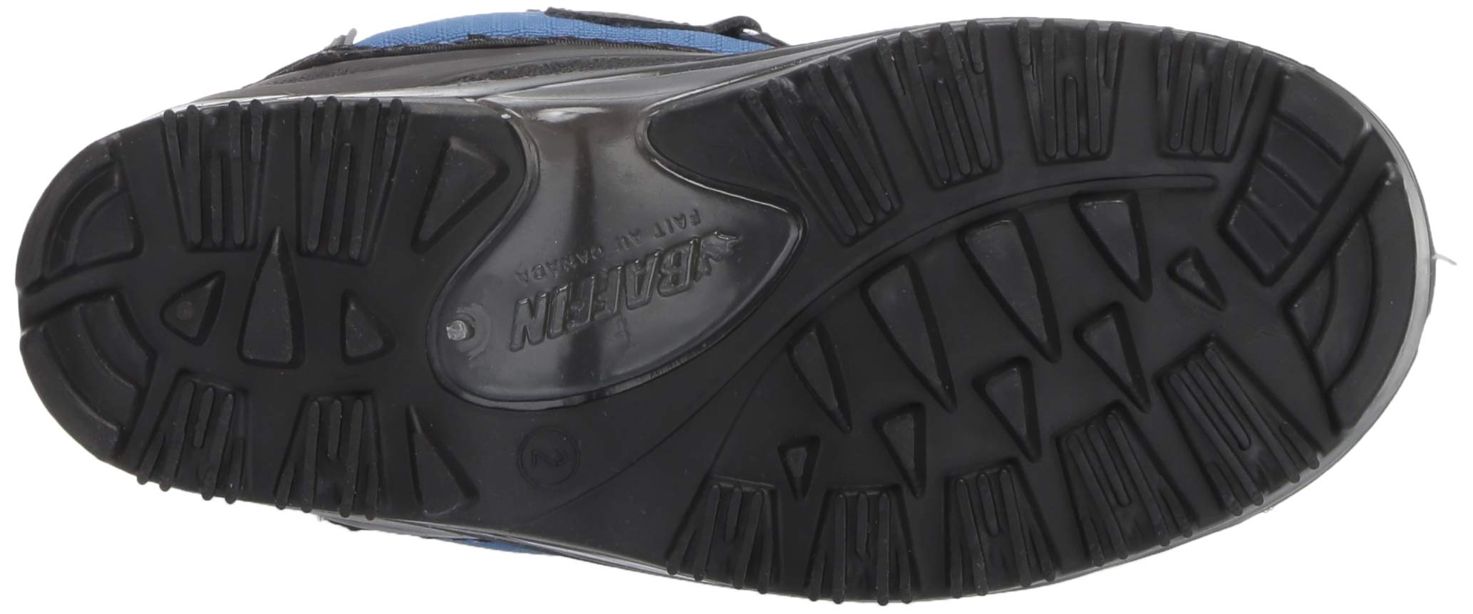 Baffin Unisex SNOWPACK Snow Boot, Blue, 2 Youth US Little Kid by Baffin (Image #3)