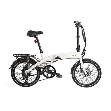 """Wabbikes - Bicicleta eléctrica plegable LOLA. Cambios SHIMANO, ruedas de 20"""", cuadro"""