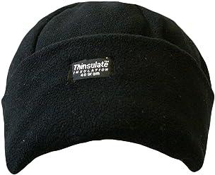 ef9eb07b30336d Ladies Fleece Thinsulate Hat BLACK