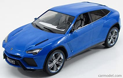 Amazon Com Lamborghini Urus Metallic Blue 2012 Model Car Ready