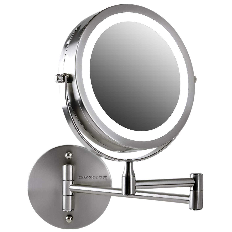 Espejo De Maquillaje Con Luz Led Para Pared 7x Ovente