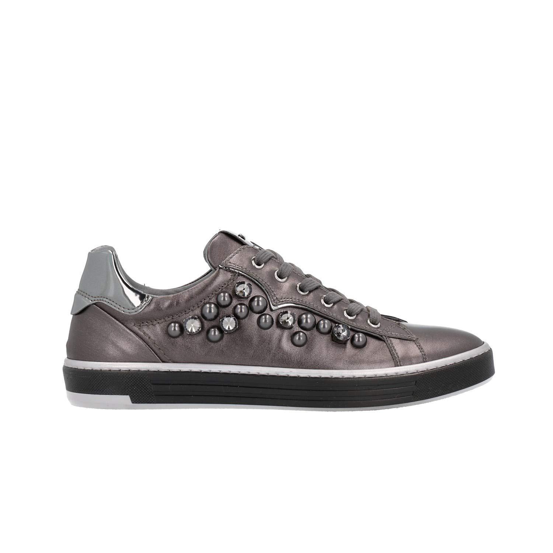 schwarz Giardini A806661D Damen Turnschuhe Grau grau