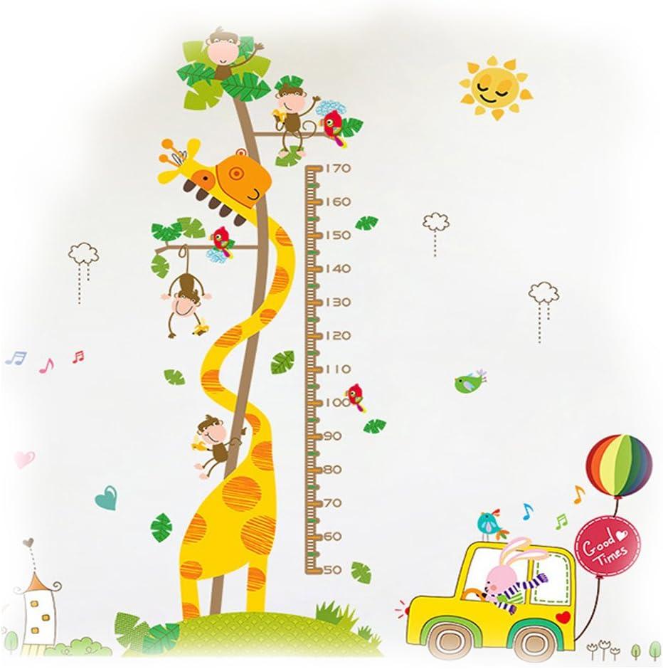 1 Easylife tabla de altura para ni/ños reglas de medici/ón marco de madera para colgar en la pared tabla de crecimiento del beb/é 3 dise/ños a elegir Dinosaurio verde un memento para toda la vida