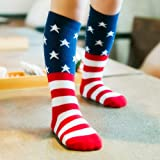 USA Flag Socks Kids Socks Casual Crew Fashionable