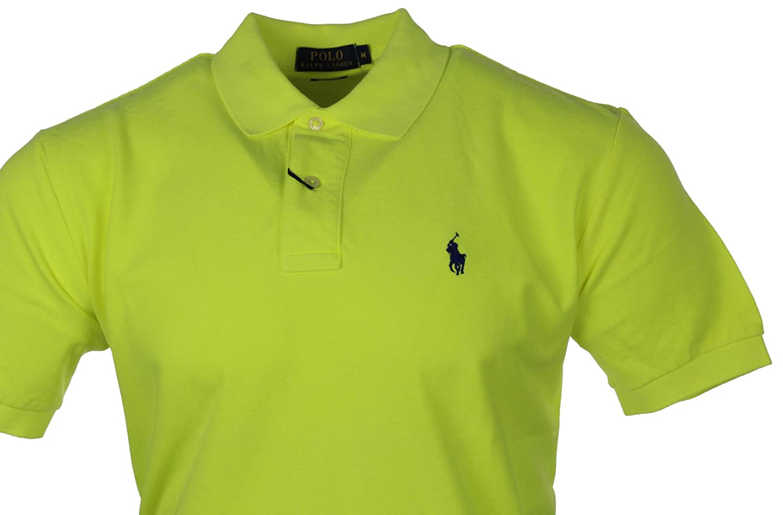 Ralph Lauren Herren Polo Shirt - Verschiedene Farben - Classic / Custom Fit:  Amazon.de: Bekleidung