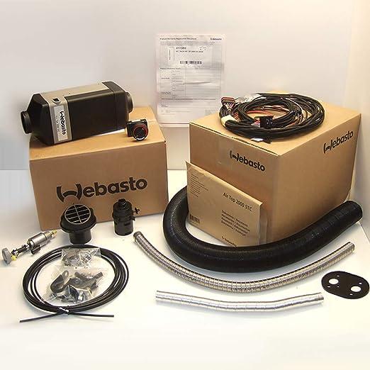 Webasto Heater Air Top 2000 St C 24v Diesel Install Kit 4111386b Everything Else Amazon Com