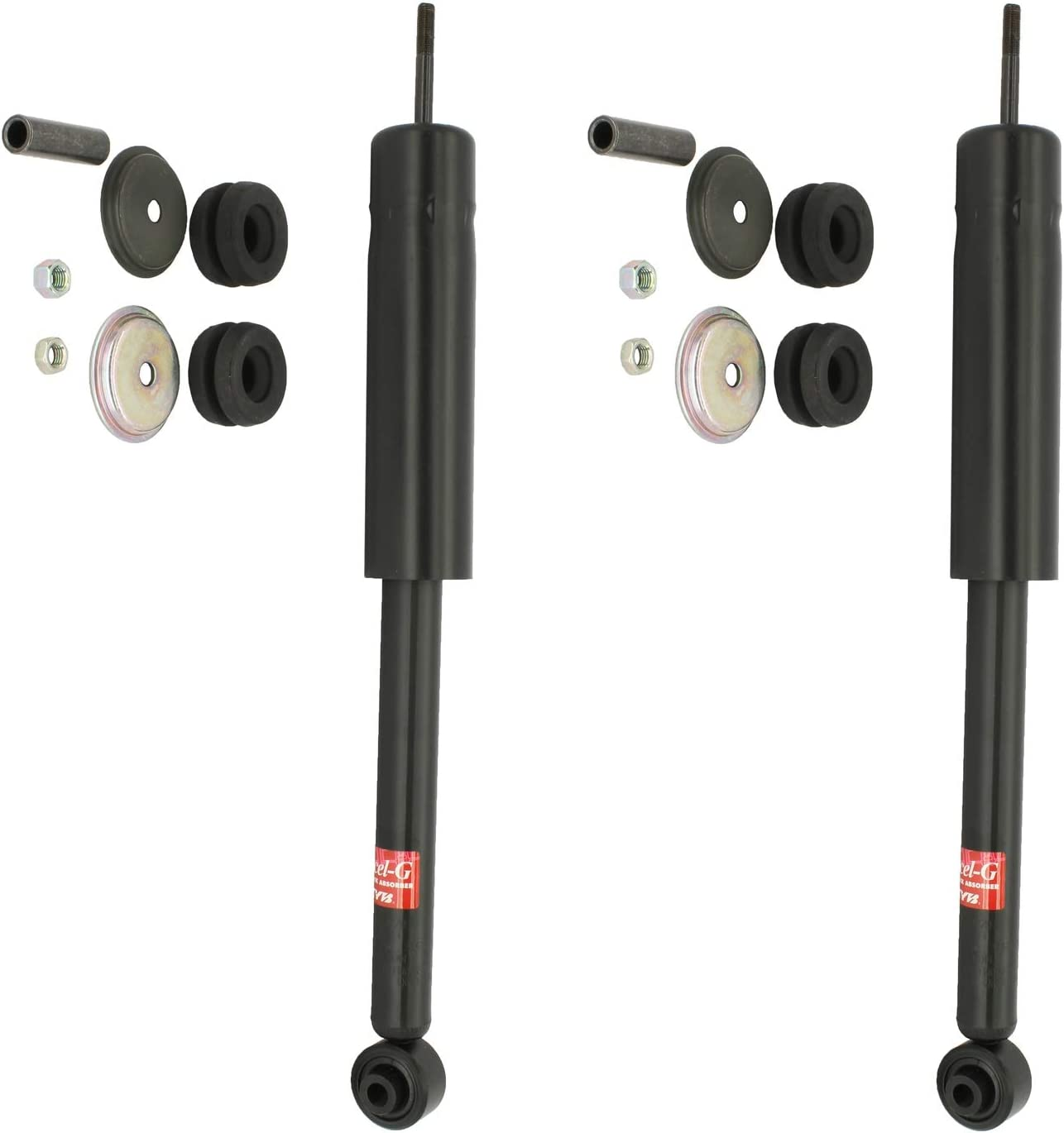 New Pair Rear KYB Excel-G Shocks Struts For Chevy Sprint 1987 1988