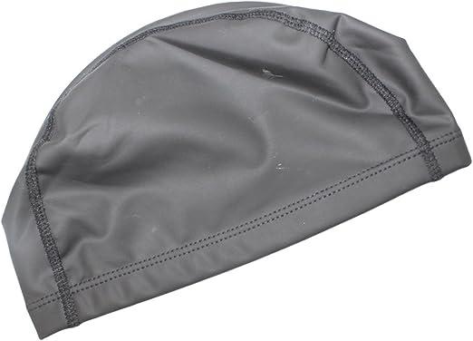 Dianoo nuevo flexible gorra de natación durable pu buceo sombrero ...
