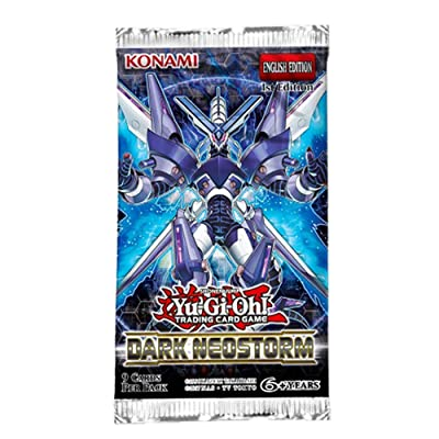 Mint YuGiOh Dark Neostorm Booster Pack: Toys & Games