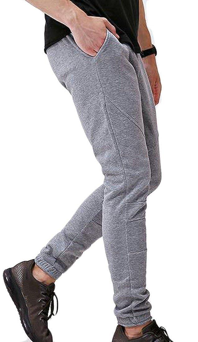 Conffetti Mens Casual Drawstring Sport Jogger Sweatpant Fitness Elastic Waist Pants