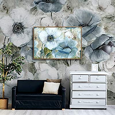 Framed for Living Room Bedroom Vintage Style Beautiful Flower Theme for, With Expert Quality, Amazing Print