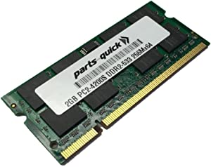 2GB Memory for Acer Aspire 6530 DDR2 PC2-4200 Laptop RAM (PARTS-QUICK Brand)