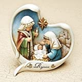 Roman, 5'' KIDS PAGEANT IN HEART FRAME JOSEPH'S STUDIO BOX