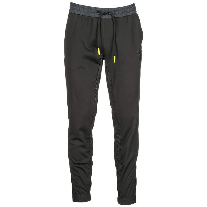 huge selection of 57650 d01d6 Emporio Armani EA7 Pantaloni Tuta Uomo Black M: Amazon.it ...