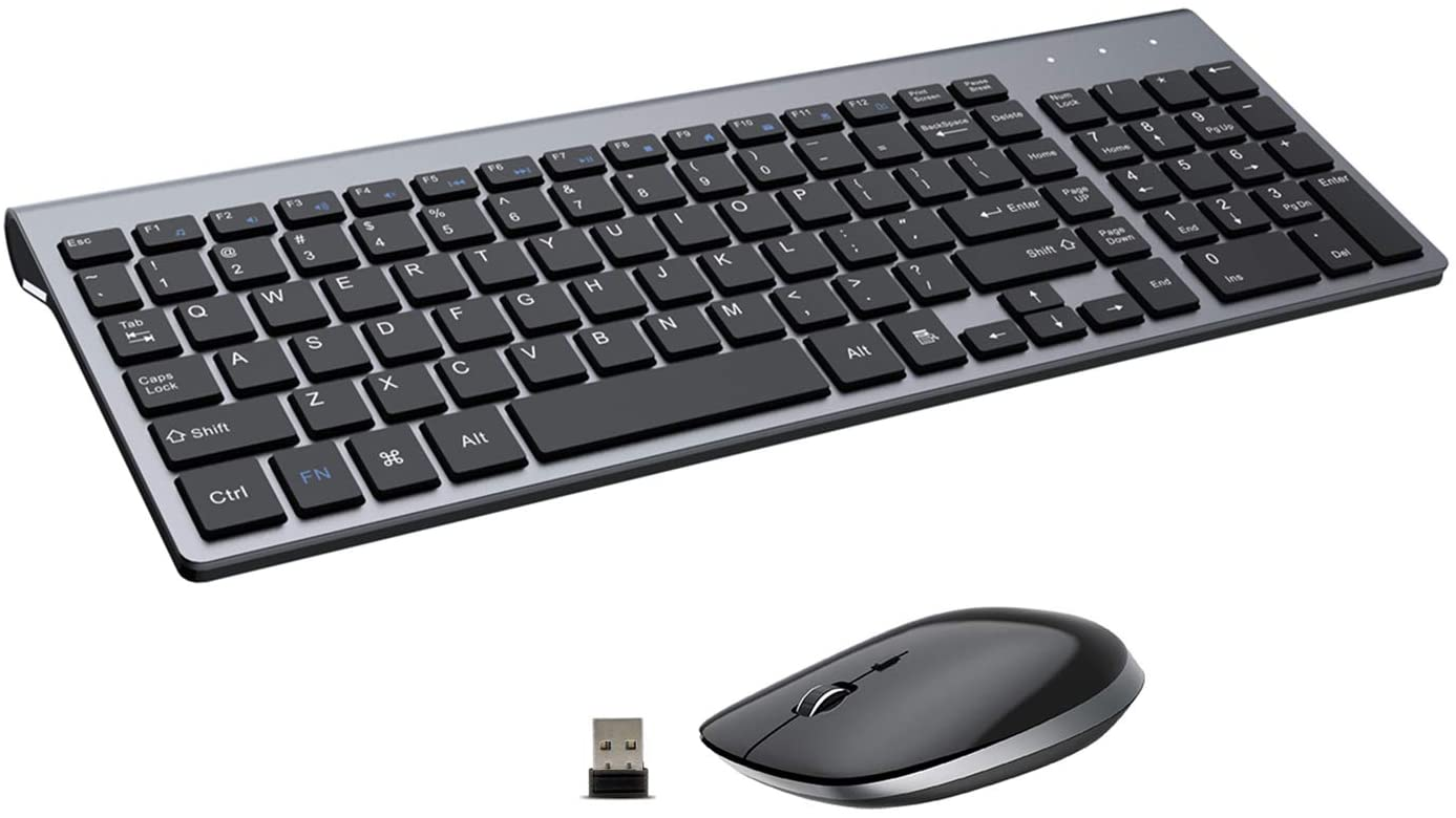 2.4G Wireless Keyboard and Mouse Combo Keyboard and Mouse Included
