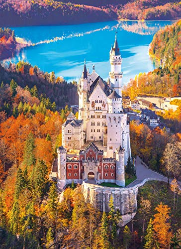 (Neuschwanstein Jigsaw Puzzle, Travel Panorama Photography, Collection, 1000 Pieces)