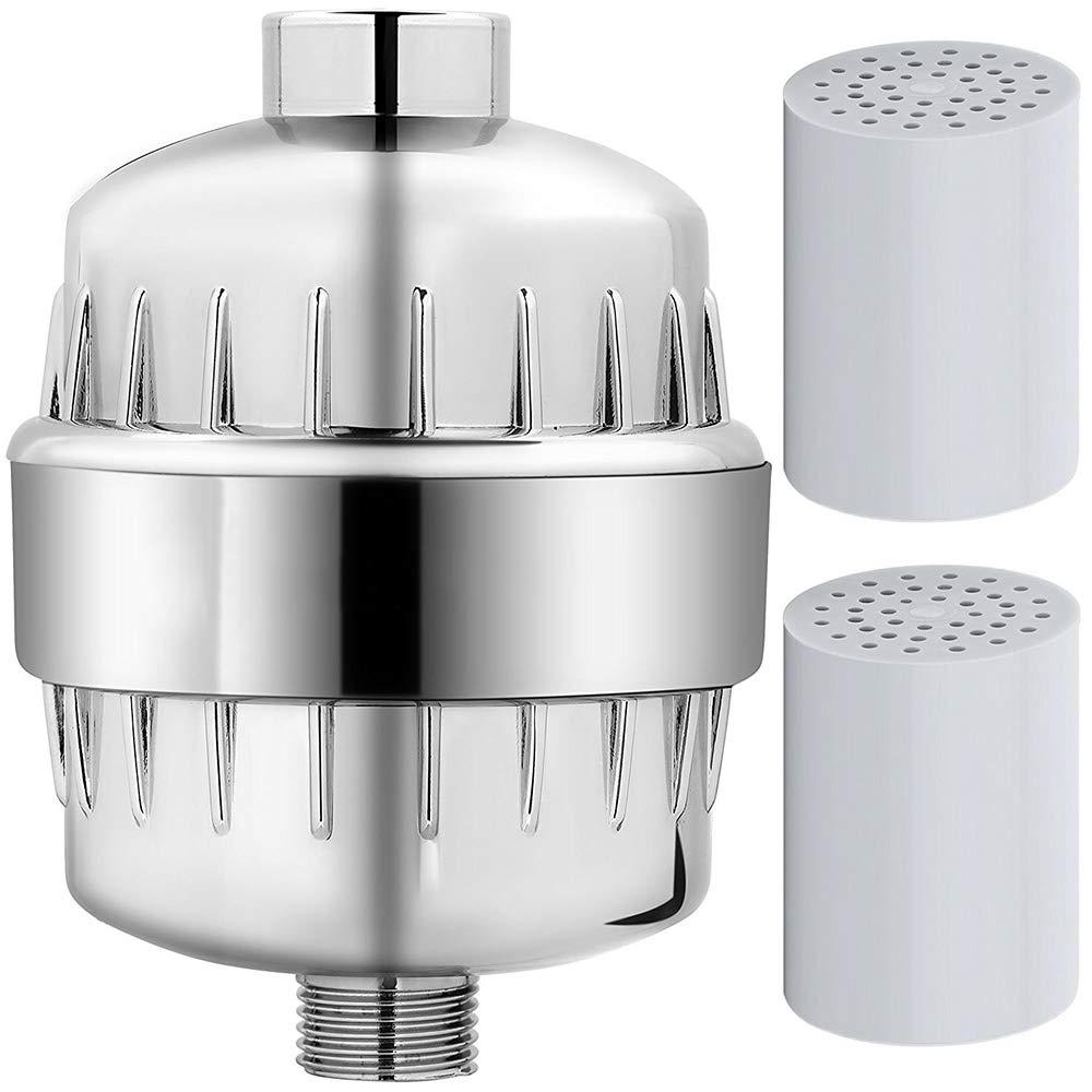 Filtro de agua de la cabeza de ducha de 12 etapas Fluoruro de alta calidad filtrado universal de la salida: Amazon.es: Bricolaje y herramientas