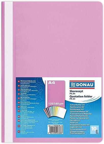 Herlitz-Cartellina formato A4 colore trasparente