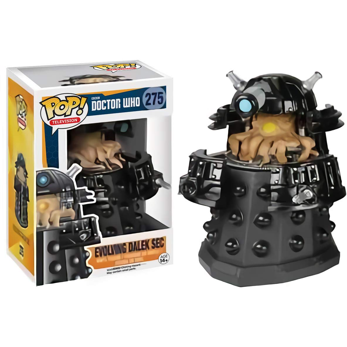 TV Vinyl Figure /& 1 PET Plastic Graphical Protector Bundle BCC9406822 Funko Evolving Dalek Sec #275 // 05786 - B GameStop Exclusive : Doctor Who x POP