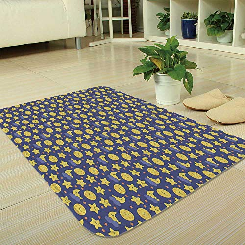 TecBillion Polyester Carpet,Baby,for Meeting Room Dining Room,35.43