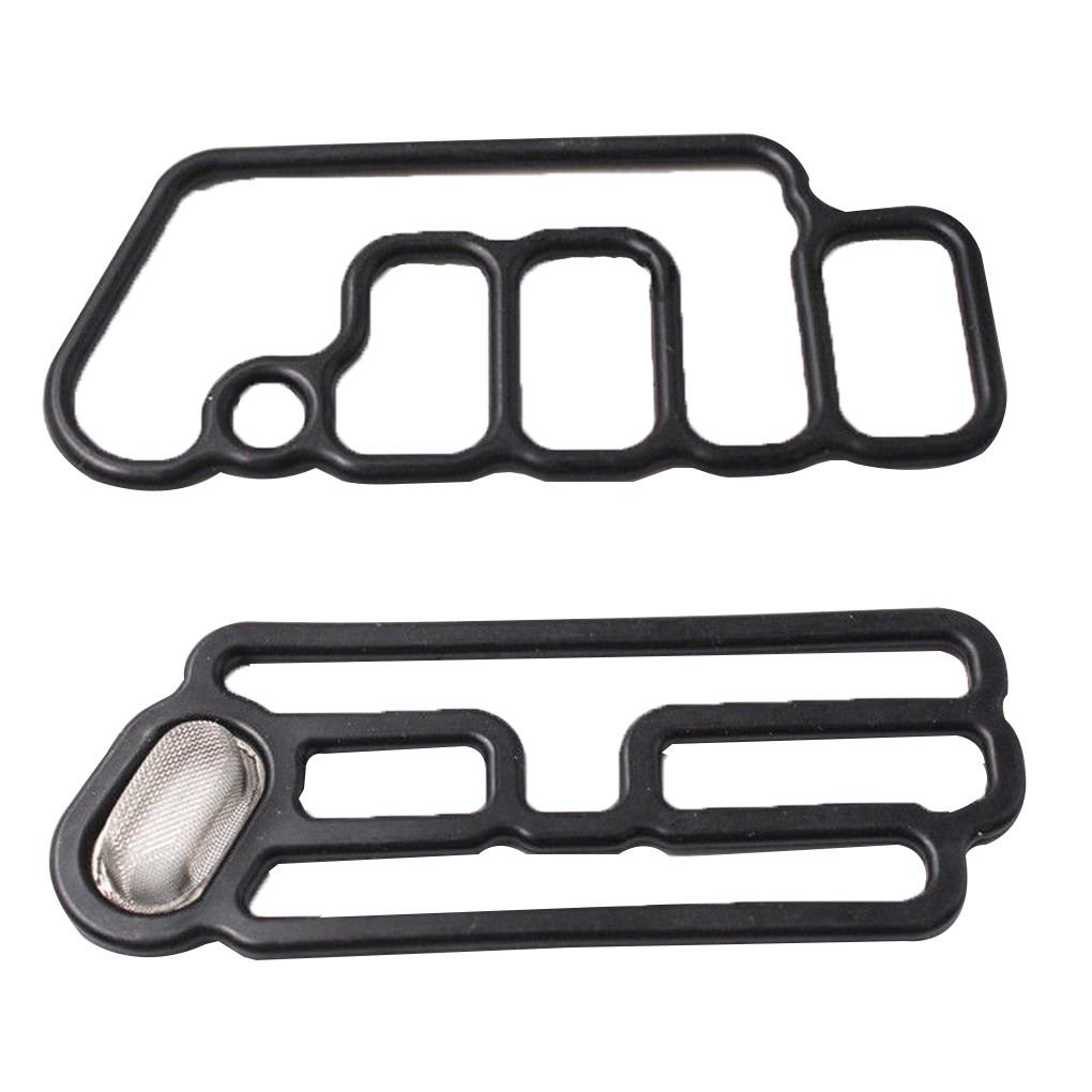Xuanhemen 1 Pair Solenoid Valve Gasket VTEC 15815-R70-A01 15845-R70-A01 Car Replacement Accessory for Honda