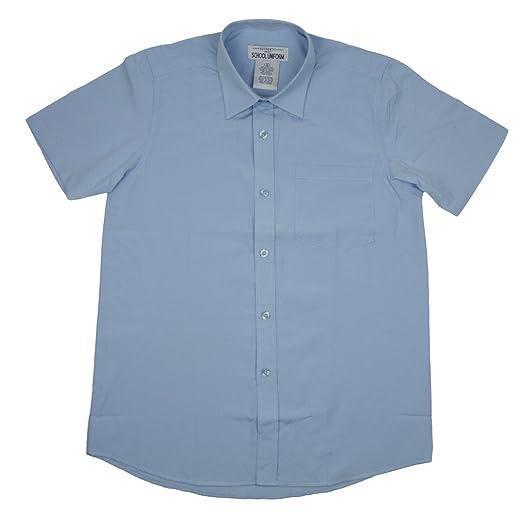 67042dac2ee Authentic Galaxy Boys School Uniforms Short Sleeve Broadcloth Shirt Blue  Size 4