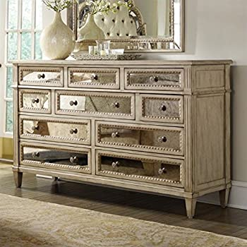 Amazon Com Hooker Furniture Sanctuary Ten Drawer Dresser