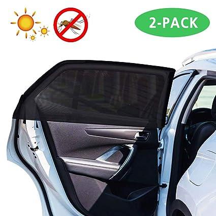 77d50f84ac31 Amazon.com  Lecone Car Side Window Shades Mesh