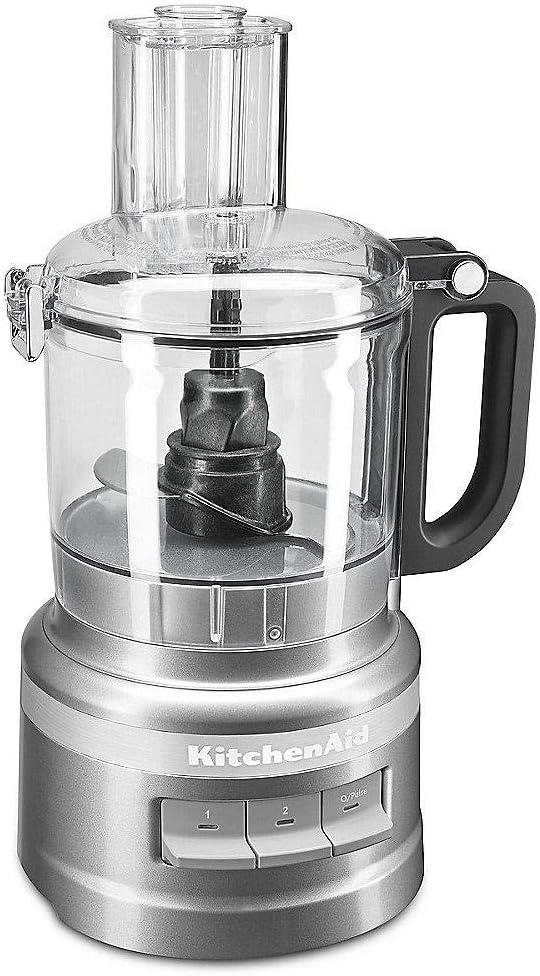 KitchenAid 5KFP0719EFG - Robot de cocina (1,7 L, Gris, Botones, 0,914 m, China, De plástico): Amazon.es: Hogar