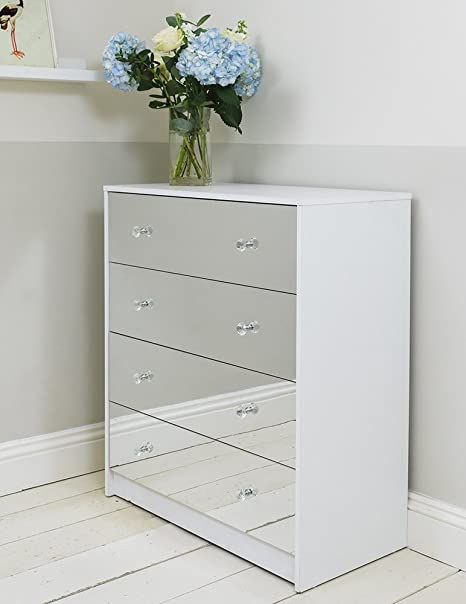 mirrored idf drawer drawers htm furniture silver in mirror panel of farrah america l chest
