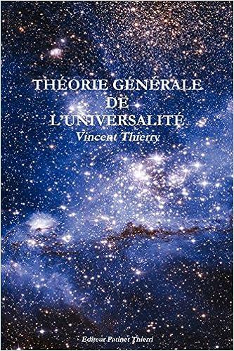 Livre gratuits Theorie Generale de L'Universalite pdf, epub ebook