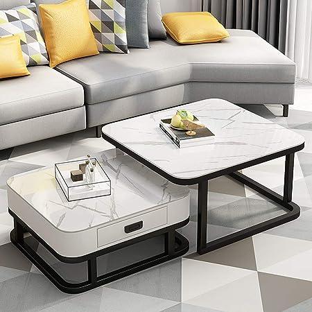 Amazon.de: Satztische Stapeln Couchtisch Tische Wohnzimmer Couch