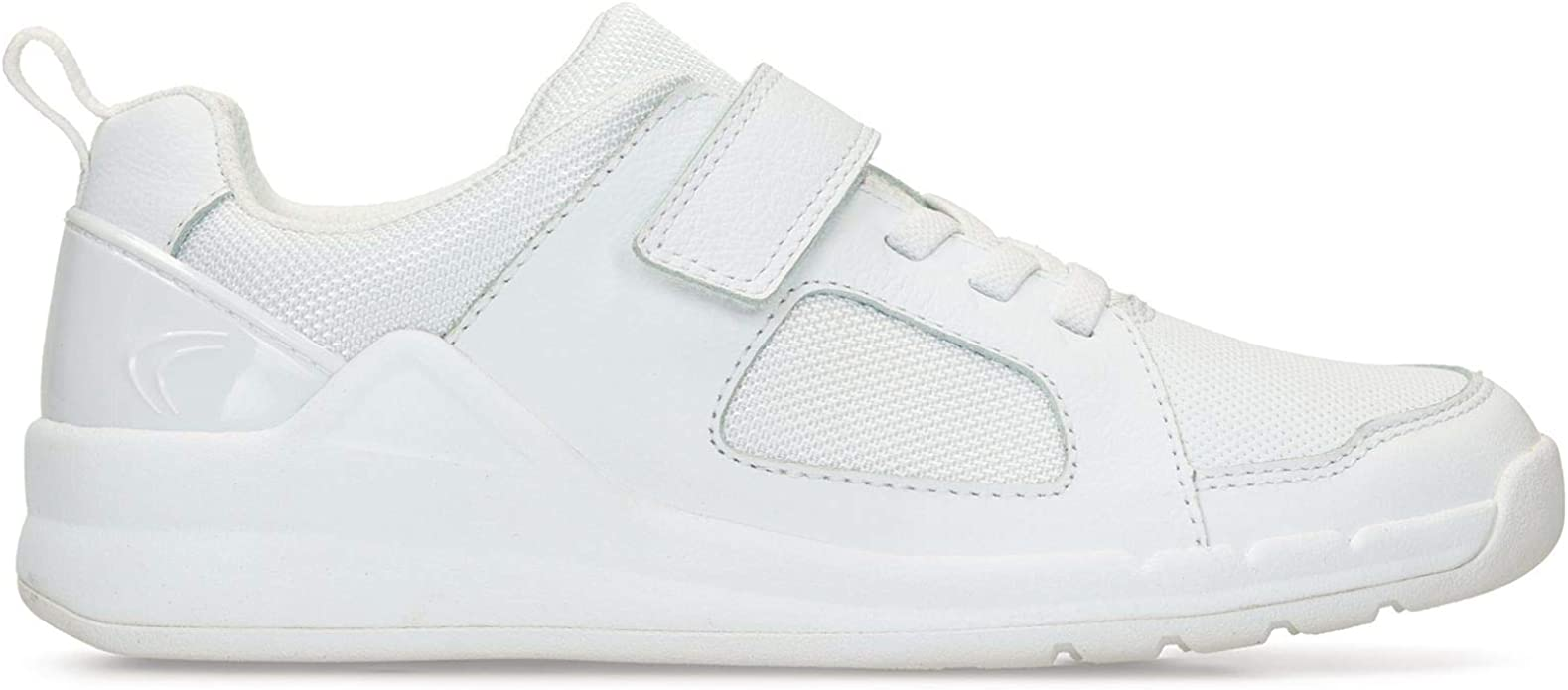 Clarks Orbit Ride Leather Trainers in