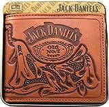 Licensed Jack Daniel's Billfold Leather Wallet