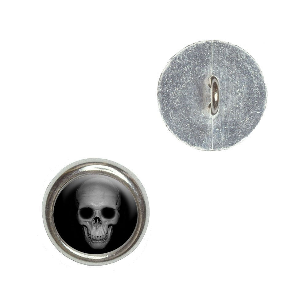 Amazon Human Skull Front View Metal Craft Sewing Novelty